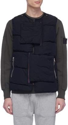 Stone Island Textile pocket strap Naslan Light down puffer vest