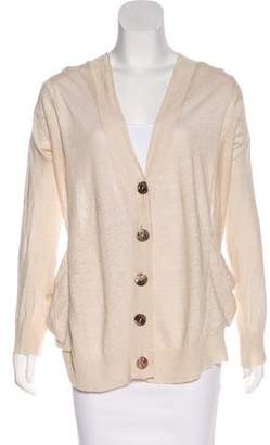 Inhabit Oversize Linen Cardigan