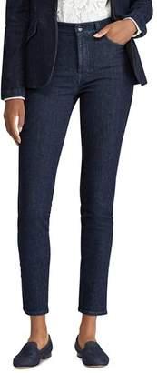 Ralph Lauren Tuxedo Stripe Skinny Jeans in Blue