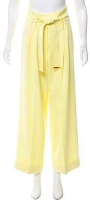 Tara Jarmon High-Rise Wide-Leg Pants