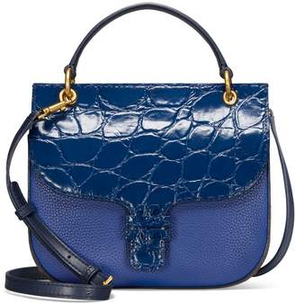 Tory Burch MCGRAW EMBOSSED SATCHEL