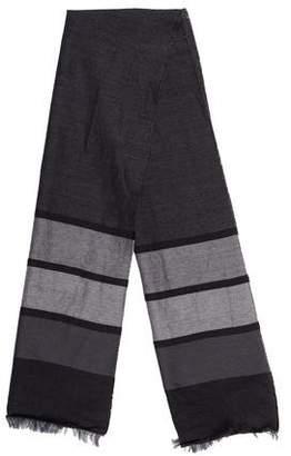 Marni Striped Print Scarf