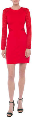 French Connection Thiestis Jersey Bodycon Long-Sleeve Dress