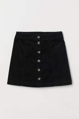 H&M A-line Skirt - Black
