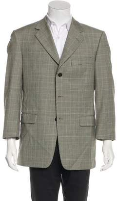 Burberry Wool Houndstooth Blazer