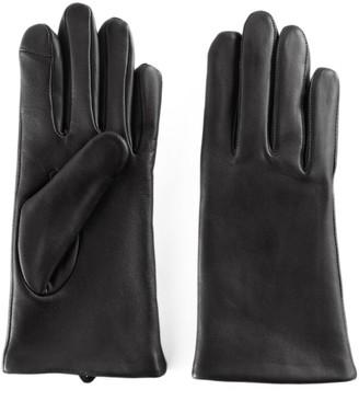 Apt. 9 Women's Fleece Lined Leather Tech Gloves