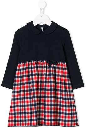 Il Gufo casual plaid bottom dress