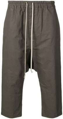 Rick Owens drawstring drop crotch trousers