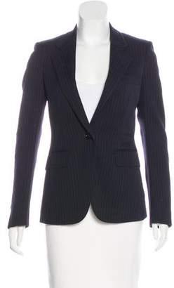 Burberry Wool Striped Blazer