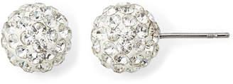 MONET JEWELRY Monet Pav Crystal Stud Earrings
