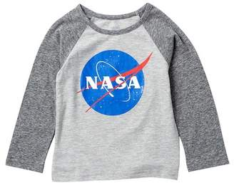 HAPPY THREADS Nasa Long Sleeve Tee (Toddler Boys)