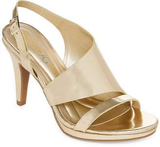 Andrew Geller Womens Theola Heeled Sandals