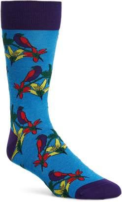 Bugatchi Floral Socks