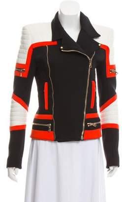Balmain Structured Moto Jacket
