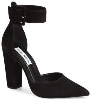 Women's Steve Madden Posted Ankle Strap Pump