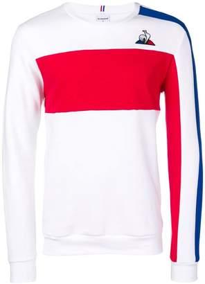 Le Coq Sportif embroidered logo sweatshirt