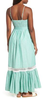 Everleigh Tie Waist Cotton Maxi Dress (Regular & Petite)