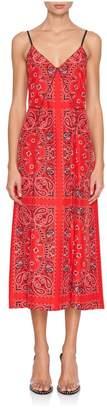 Alexander Wang Bandana Print Slip Dress