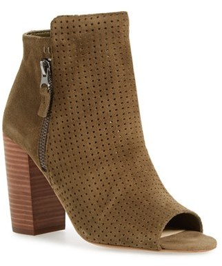 Women's Jessica Simpson 'Keris' Open Toe Bootie $128.95 thestylecure.com