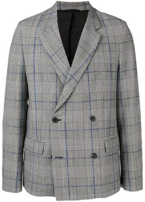 Joseph Charles Washed Textured Check jacket