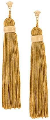 Versace Medusa tassel earrings