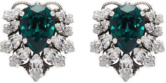 Anton Heunis Swarovski crystal cluster stud earrings