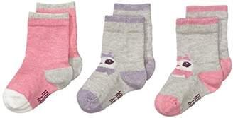 Mexx Baby Girls Baby Girls Socks Calf Socks,(Manufacturer size: 6/9M)