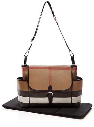 Burberry Check Large Diaper Tote Bag