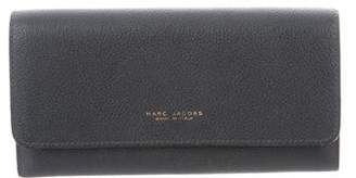 Marc Jacobs Leather Flap Wallet