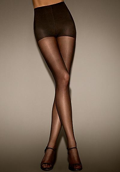 Donna Karan Hosiery Body Perfect Boyshorts Matte Sheer Pantyhose Panty Hose