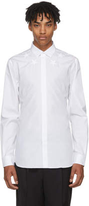 Givenchy White Stars Shirt