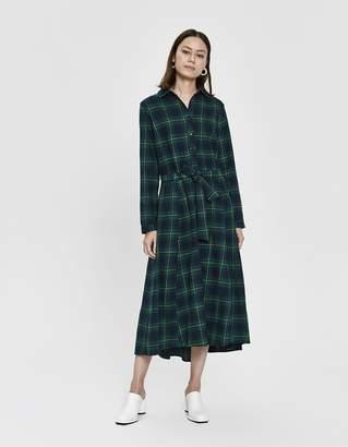 8d379d9b06 Stelen Jay Flannel Dress in Green