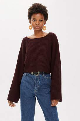 Topshop Cropped Jumper