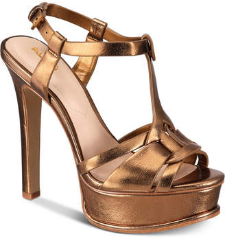 Aldo Chelly Platform Dress Sandals Women Shoes