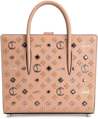 Christian Louboutin Paloma medium beige loubinthesky bag