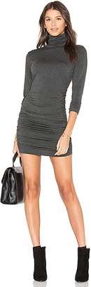 amour vert Petra Dress in Charcoal $128 thestylecure.com