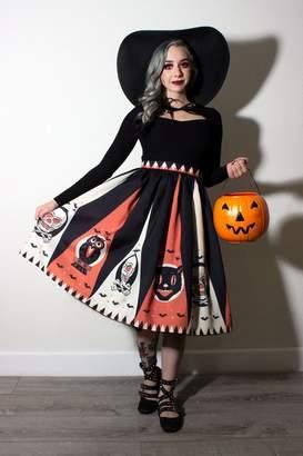 The Oblong Box Shop Halloween Treat Skirt