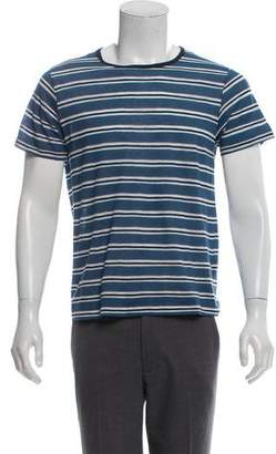 Band Of Outsiders Short Sleeve Striped T-Shirt