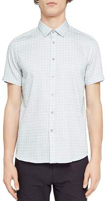 Ted Baker Modmo Dot Circle Regular Fit Button-Down Shirt