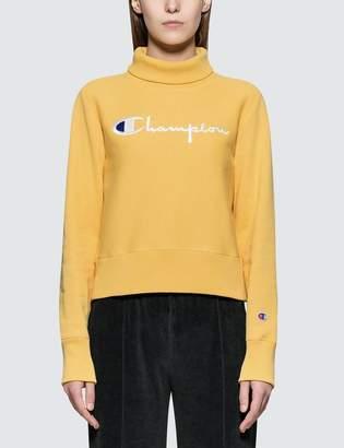 Champion Reverse Weave Turtle Neck Long Sleeves Sweatshirt