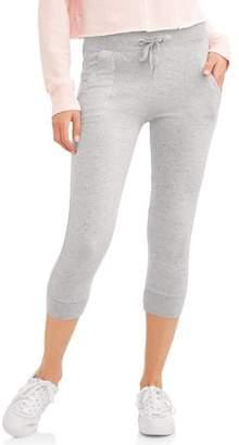 N.y.l. Sport N.Y.L. Sport Women's Athleisure Porkchop Pocket Capri Jogger Pant