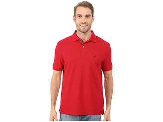 Nautica S/S Solid Polo With Tape