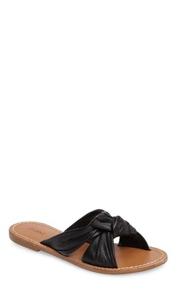 Women's Soludos Knotted Slide Sandal $98.95 thestylecure.com