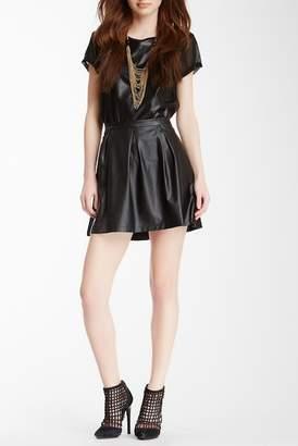 Tart Roxbury Faux Leather Skirt