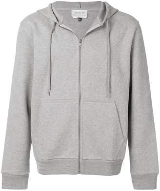 A.P.C. zip front hoodie