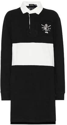 Polo Ralph Lauren Striped cotton rugby dress