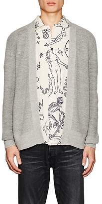 Barneys New York Men's Cotton-Alpaca Cardigan
