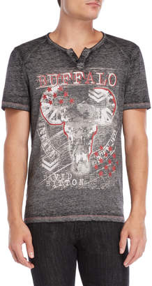 Buffalo David Bitton Nellow Burnout Henley