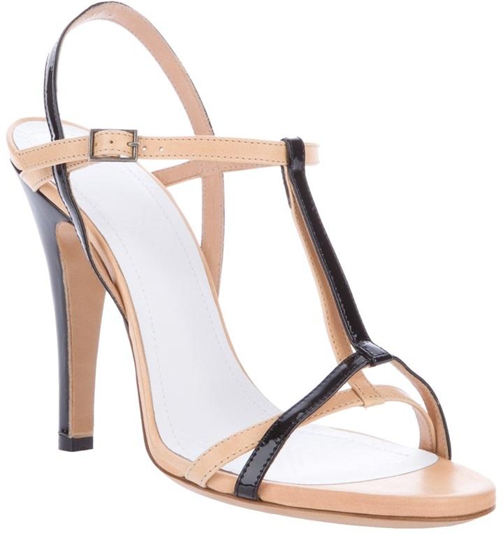 Maison Martin Margiela two-tone strap sandal