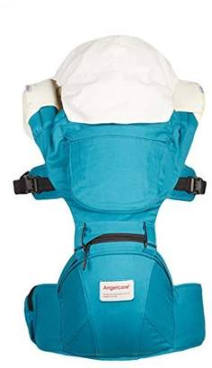 Angelcare Baby&Child Hip Seat Backpack Carrier,Ergonomic Design,Soft Touch,6 Carrying Positions,100% Organic Cotton,Adjustable Carrying Strap,Extra 2 Teething Pads